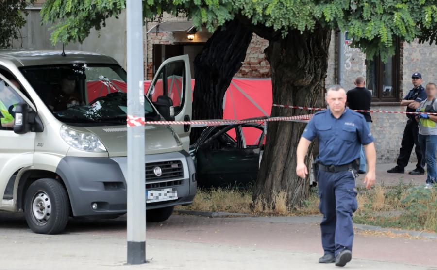 Akcja policji na warszawskim Bródnie