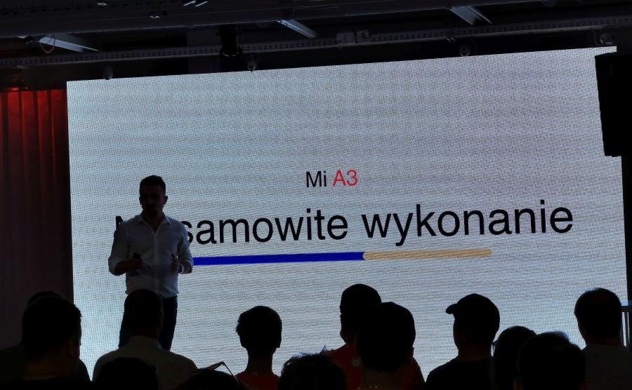 Premiera Xiaomi Mi A3