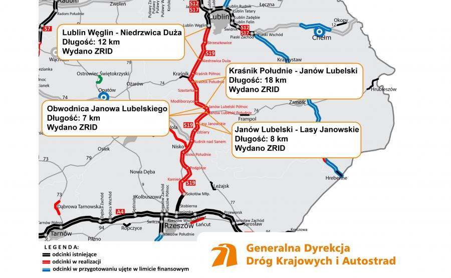 Ruszyły prace na pierwszym z sześciu odcinków S19 na terenie województwa lubelskiego