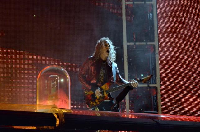 Kirk Hammett. Koncert zespołu Metallica 21.08.2019