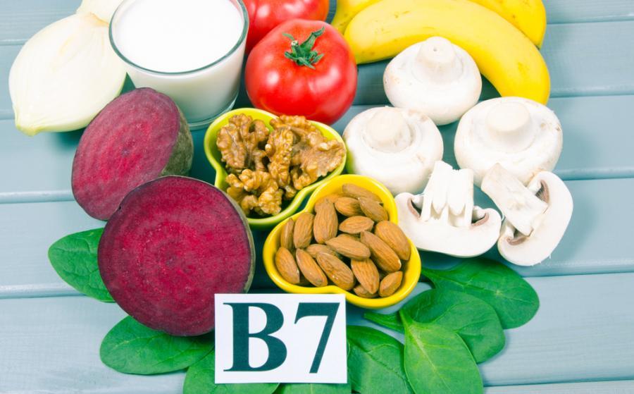 Produkty bogate w biotynę