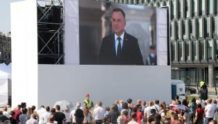 Andrzej Duda na obchodach 80 rocznicy wybuchu ii wojny światowej