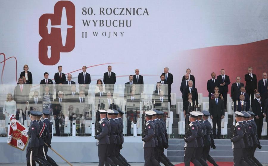 Obchody 80 rocznicy wybuchu II wojny światowej