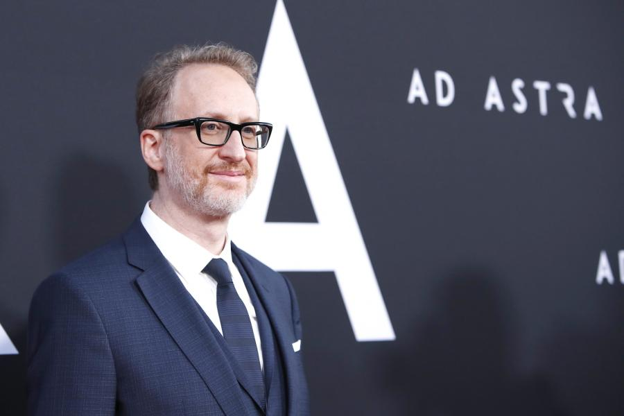 "James Gray na premierze filmu ""Ad Astra"""