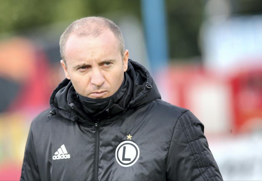 Trener piłkarzy Legii Warszawa Aleksandar Vukovic