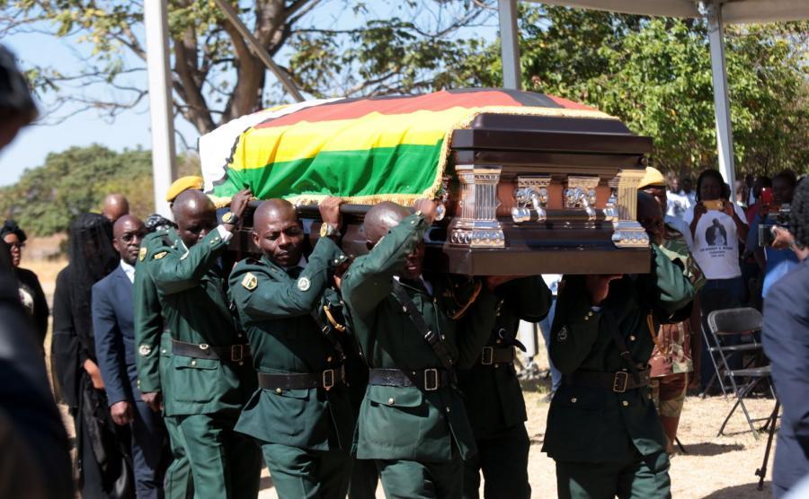 Pogrzeb Roberta Mugabe