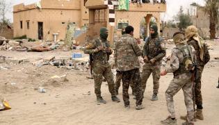 Kurdyjscy bojownicy
