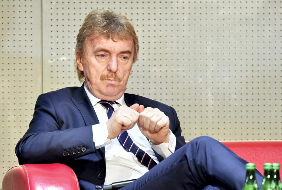 Prezes Polskiego Związku Piłki Nożnej Zbigniew Boniek