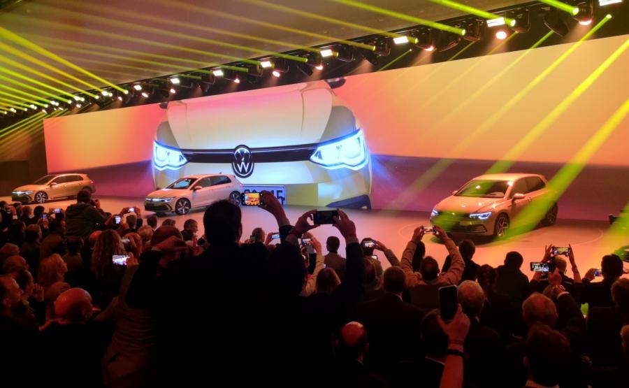 Volkswagen Golf 8 prosto z Wolfsburga