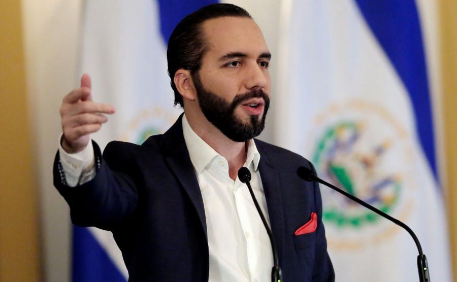Prezydent Salwadoru Nayib Bukele