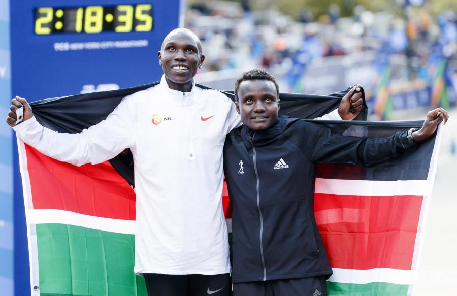 Geoffrey Kamworor i Joyciline Jepkosgei