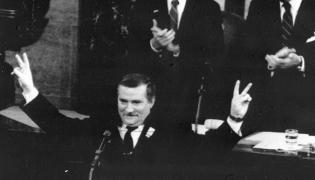 Lech Wałęsa w Kongresie