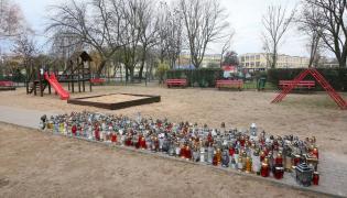 Znicze w Koninie, gdzie postrzelono 21-latka
