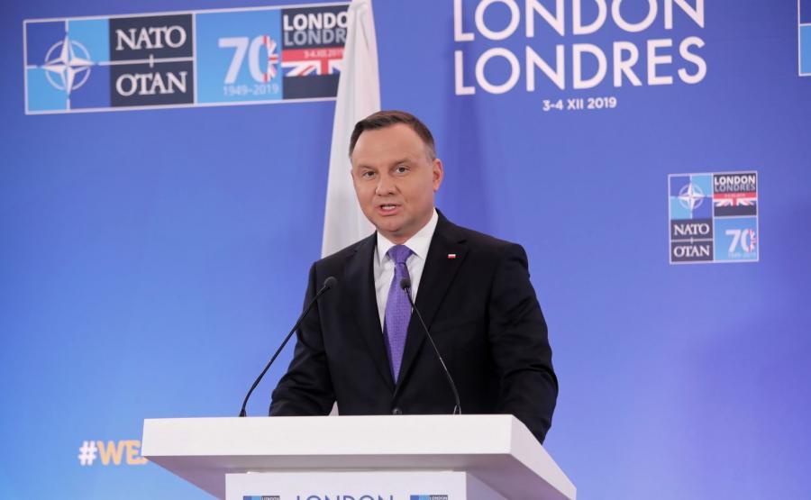 Prezydent na szczycie NATO