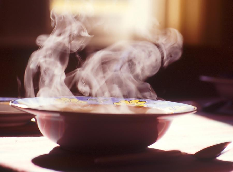 Zupa gulaszowa z kasztanem i...winem