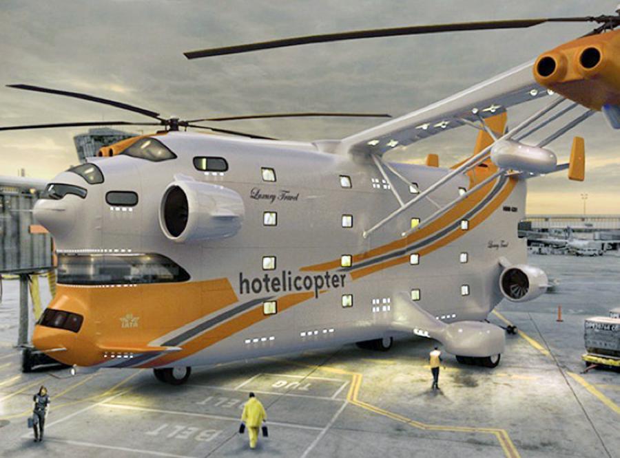 Wakacje w hotelo-helikopterze?
