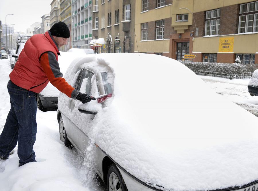Uwaga! Przez śnieg dostaniesz mandat!