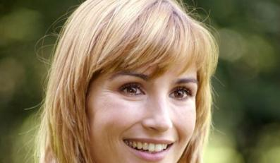 17.08.2006 Warszawa. N/Z Joanna Brodzik aktorka . Serial Magda M TVN . Fot. Artur Hojny