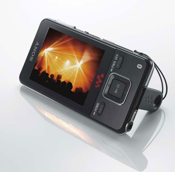 Nowe walkmany Sony z wideo i bluetooth stereo