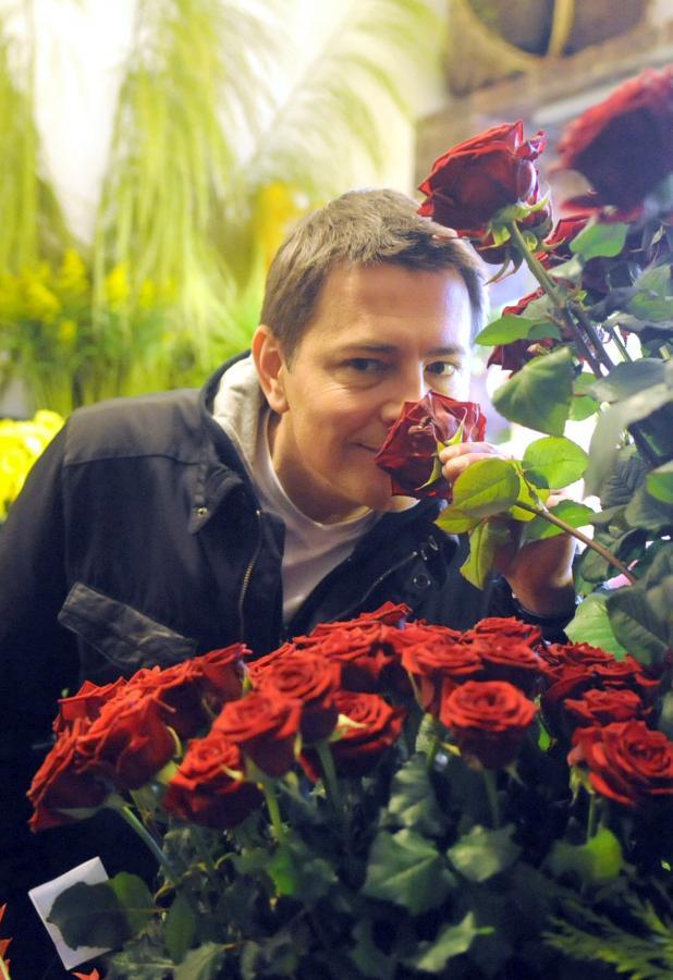 Ibisz kupił mamie kwiaty
