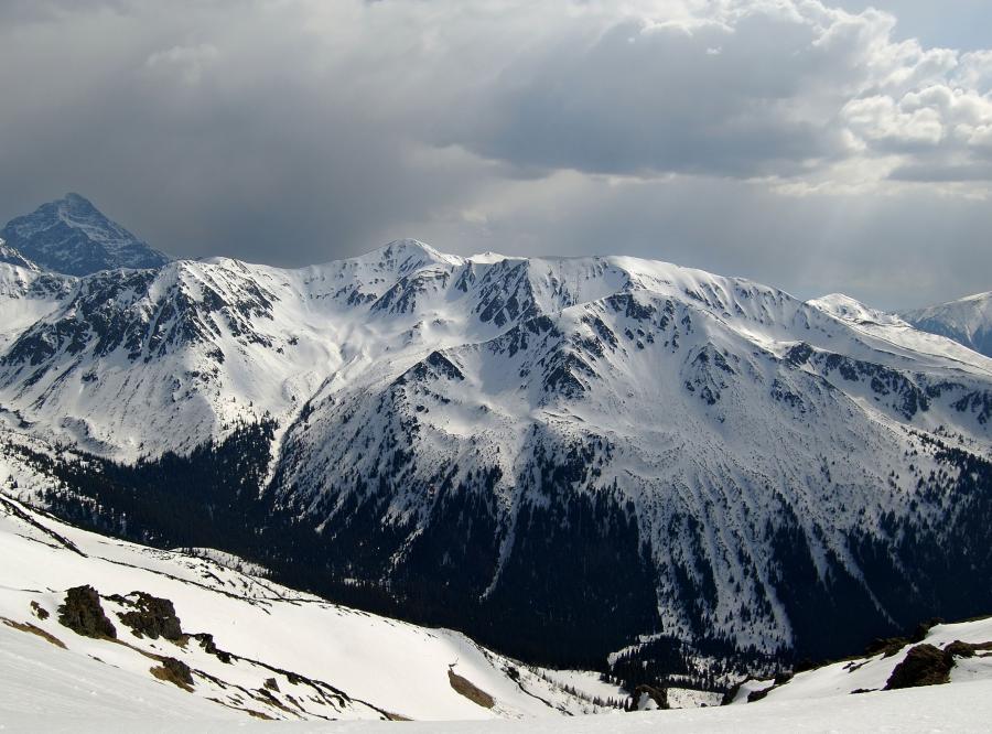 10 cm śniegu spadło w Tatrach