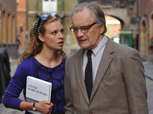 Magdalena Boczarska i Andrzej Seweryn
