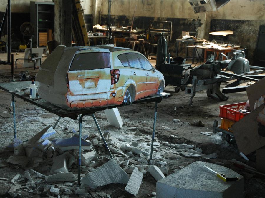 Samochód Zbigniewa Libery