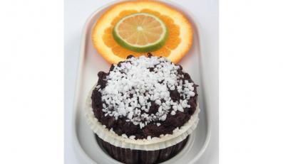Muffinki czekoladowe w sam raz na Walntynki