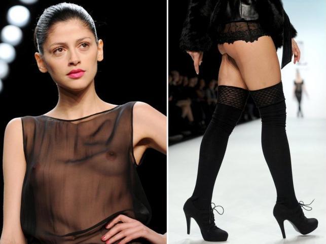 Zmysłowe kreacje na berlińskim tygodniu mody