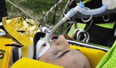 Robert Kubica po wypadku