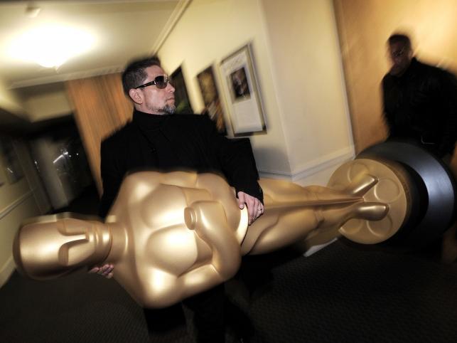 Przygotowania do oscarowej gali w Hollywood