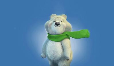 Niedźwiadek polarny - maskotka olimpiady w Soczi