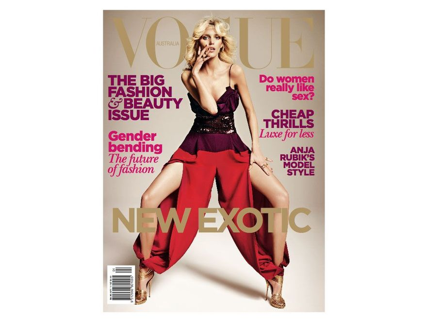 Anja Rubik dla Vogue Australia