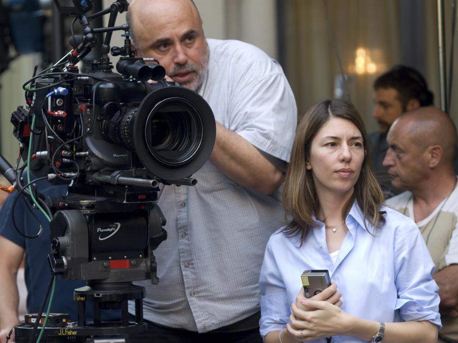 Sofia Coppola na planie \