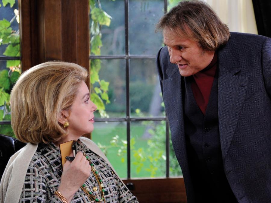 Catherine Deneuve i Gérard Depardieu w flmie Żona doskonała