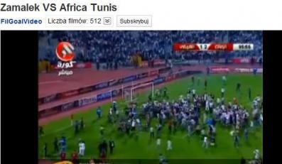Egipscy kibice chcieli zlinczować tunezyjskich piłkarzy