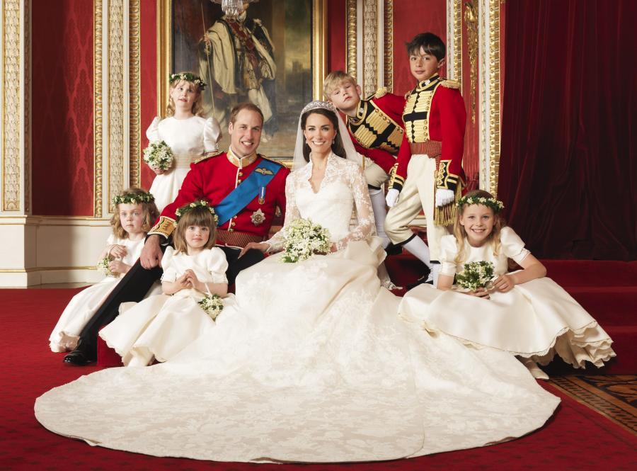 Ślubny portret księcia Williama i Jej Królewskiej Wysokości Katarzyny, księżnej Cambridge