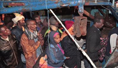 Lampedusa - cel tysięcy imigrantów z Afryki