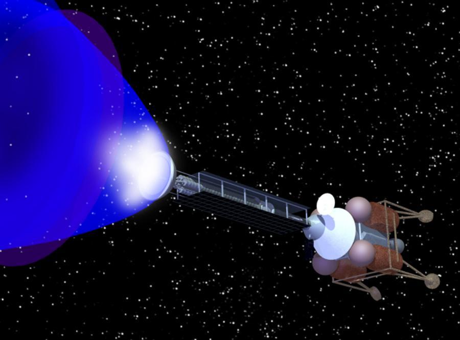 Antymateria paliwem kosmicznym przyszłości