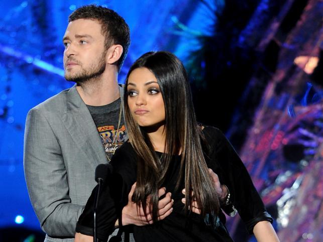 Justin Timberlake i Mila Kunis