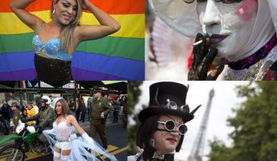 Parady gejowskie przeszły przez miasta na całym świecie
