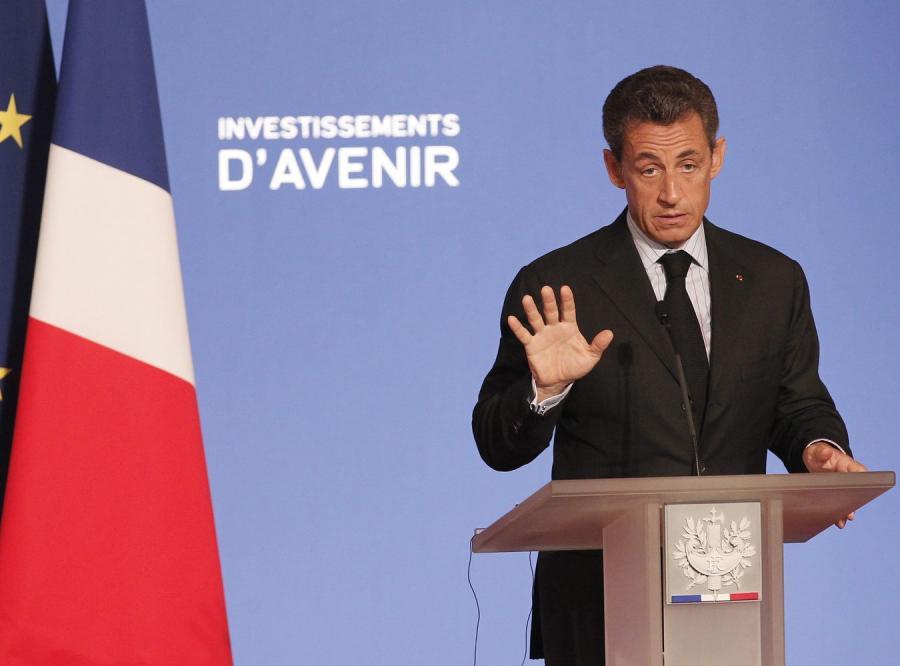 Sarkozy: Francuskie banki uratują Grecję