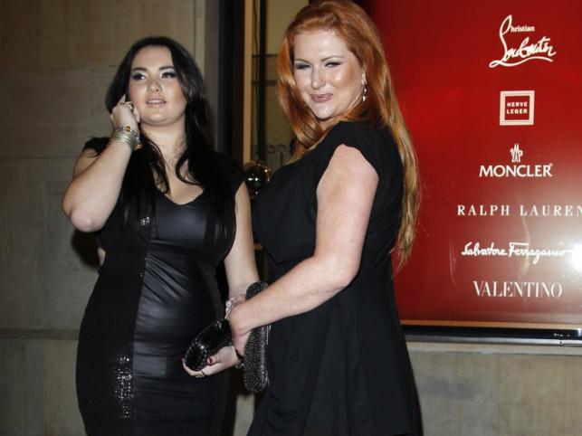 Marta i Wiktoria Grycan na inauguracji marki Louboutin w butiku przy Moliera 2 w Warszawie.