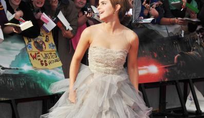 Emma Watson na londyńskiej premierze Harry'ego Pottera
