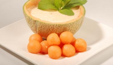 Owocowy chłód: chłodnik z melona