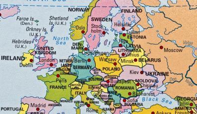 Mapa polityczna Europy