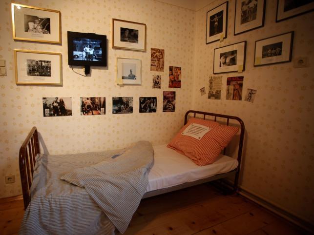 Stare łóżko Arnolda Schwarzeneggera