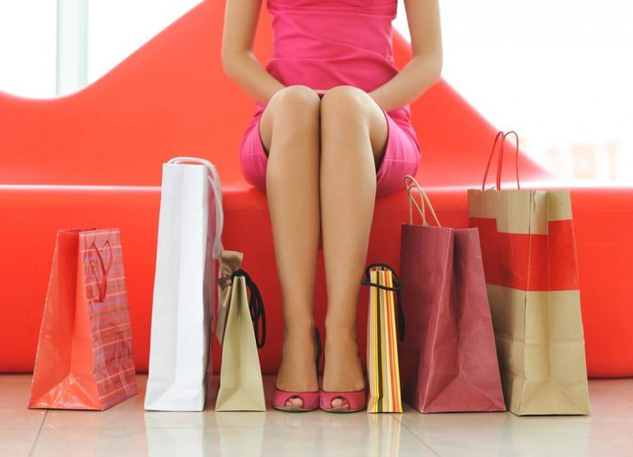 Zakupy to ulubiona forma spędzania wolnego czasu wielu kobiet.