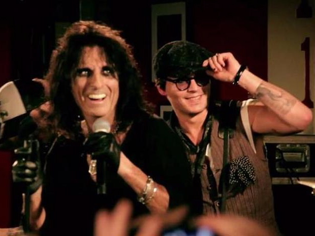 Alice Cooper i Johnny Depp