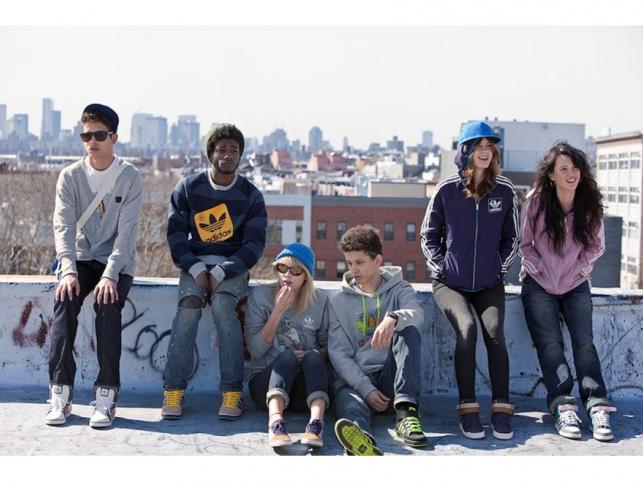 Jesień w mieście: freestyle'owa kolekcja adidas Originals na jesień i zimę